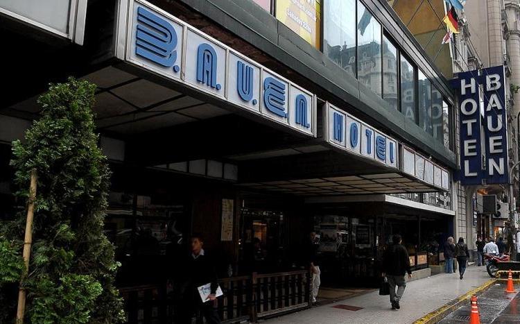 Jornada solidaria a favor del Hotel Bauen para evitar desalojo