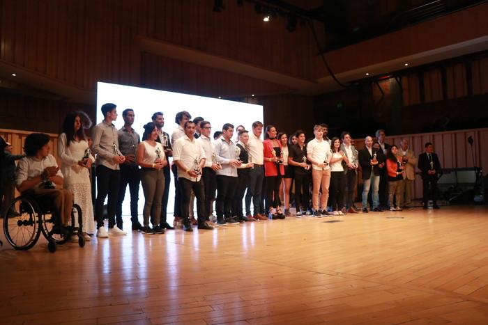Se entregaron los premios del Deporte Metropolitano Jorge Newbery