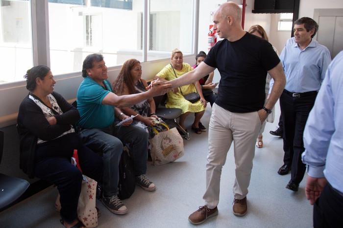 Barracas: El Jefe de Gobierno visitó el Centro Médico Ambulatorio