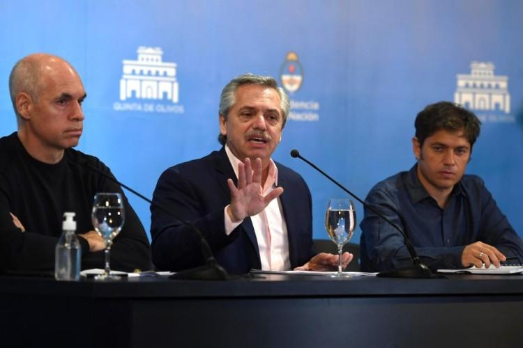 Alberto Fernández anunció medidas en relación al Coronavirus