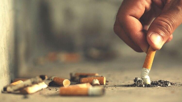 Impulsarán una ley para multar a quienes arrojen colillas de cigarrillo en la vía pública