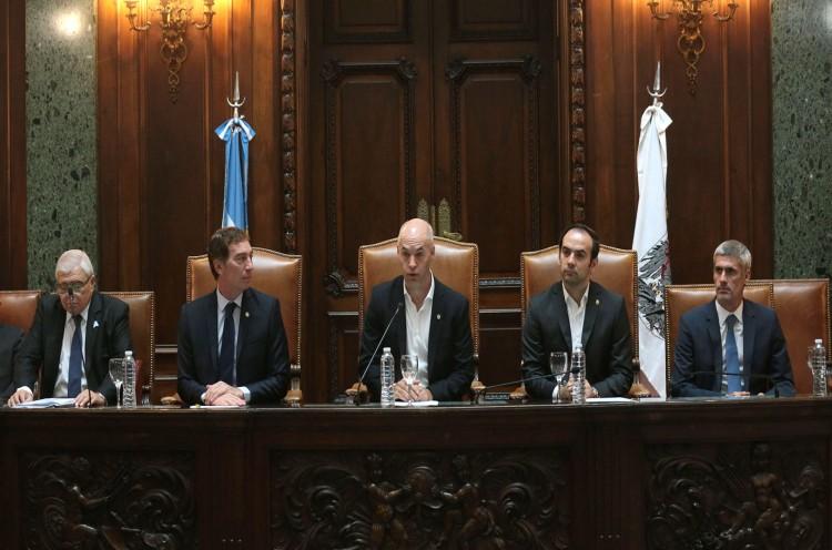CABA: Larreta dio inicio del año Legislativo 2020