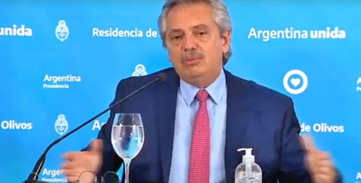 Alberto Fernández anunció la extensión de la cuarentena hasta el 12 de abril
