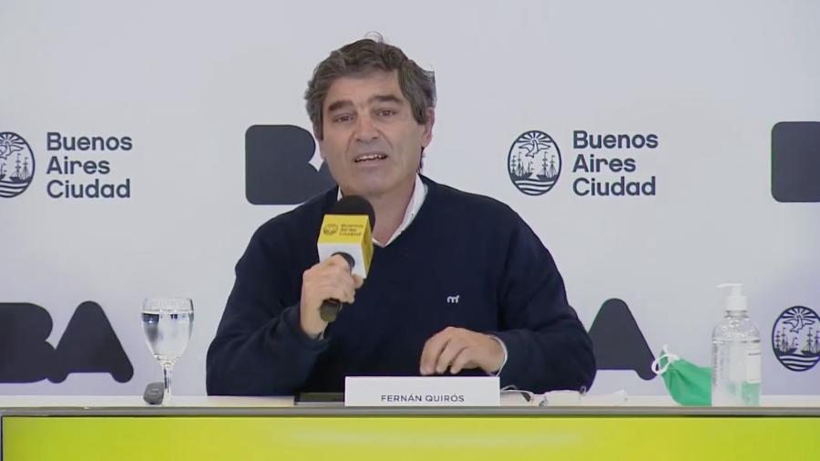 """Fernán Quirós: """"Hay una curva de ascenso lento"""""""
