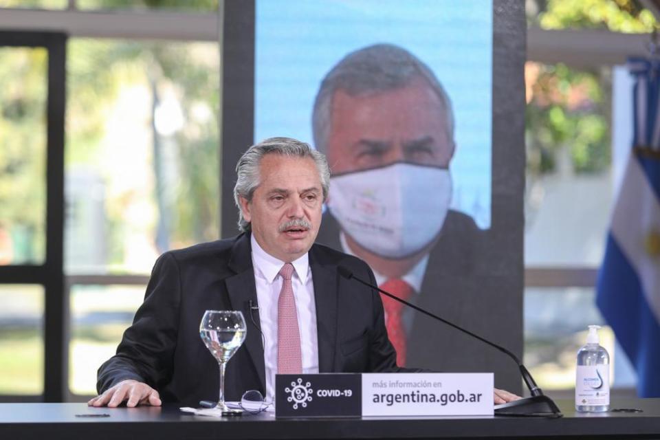 """Alberto Fernández: """"Todo el esfuerzo que hemos hecho, no ha sido inútil"""""""