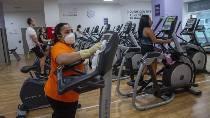 El 10% de los gimnasios del país cerraron por la pandemia