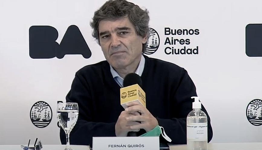 """Fernán Quirós: """"El comportamiento ha sido altamente positivo y la mayoría de los porteños han cumplido"""""""