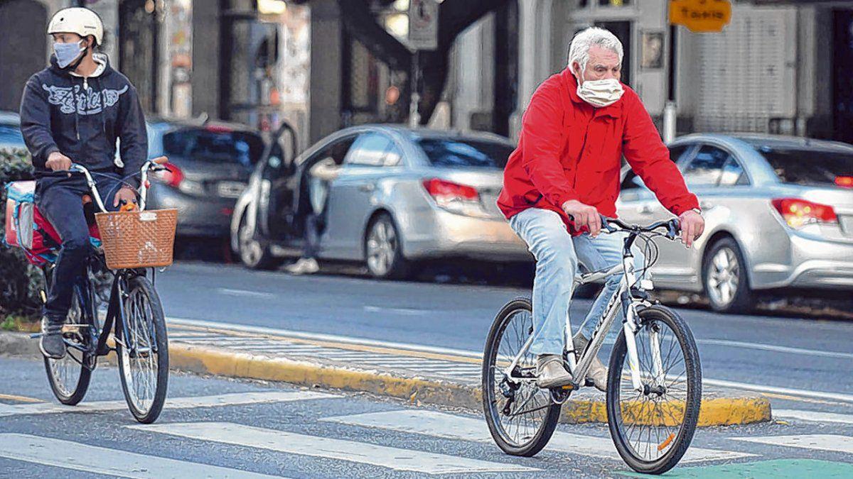 El uso de la bicicleta creció un 114% durante la pandemia