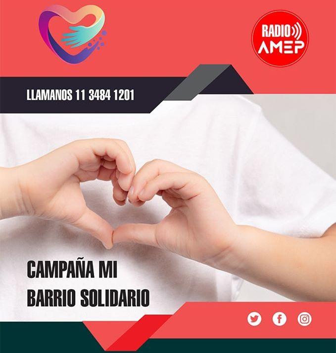 Radio Amep lanza una campaña solidaria