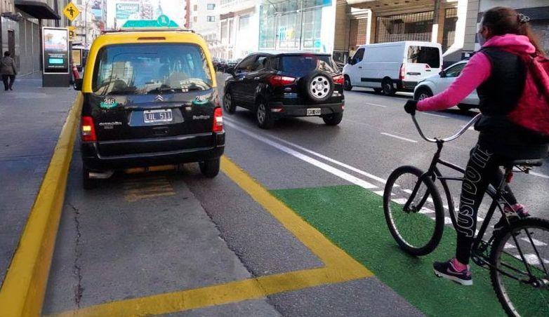 CABA: construirán ciclovías en las avenidas Corrientes y Córdoba