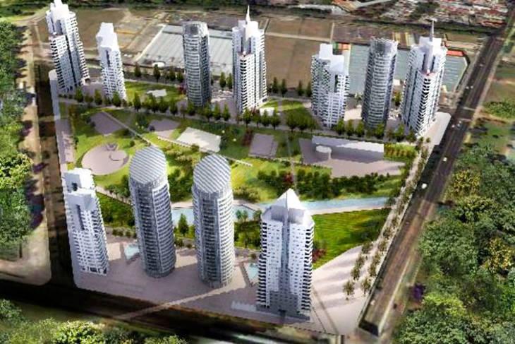 La Paternal: Avanza la obra de las torres de 17 pisos