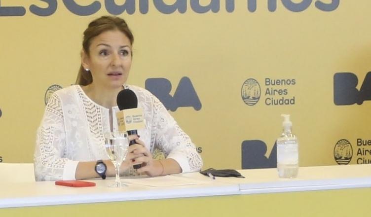 """Soledad Acuña: """"Las escuelas de la Ciudad van a volver a abrir"""""""