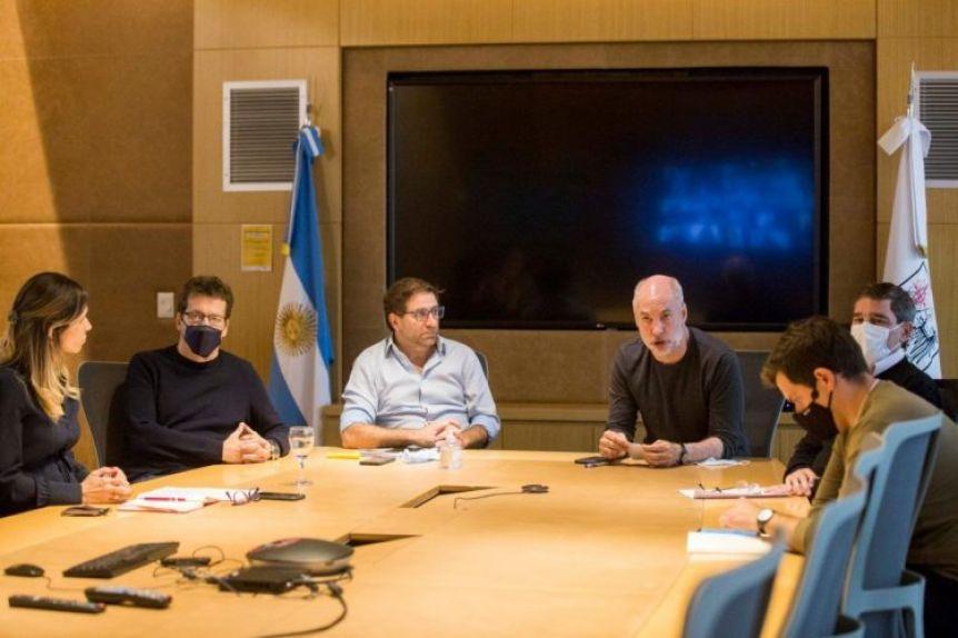 Reunión virtual entre Larreta con el sector hotelero