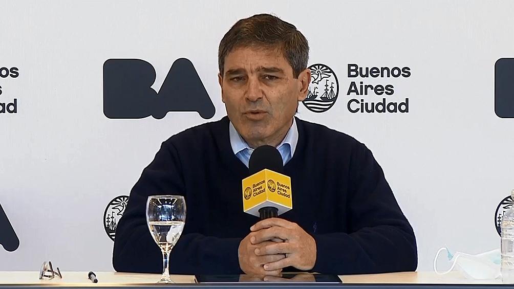 """Fue """"Indispensable y oportuna"""" dijo Quirós, sobre la implementación de la cuarentena"""