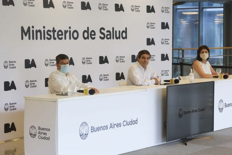 """""""La tasa de letalidad para CABA es del 3,5%"""", afirmó Quirós"""
