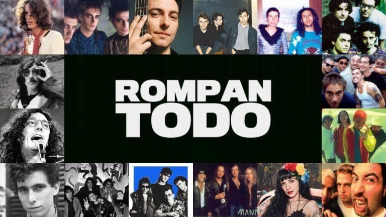 """""""Rompan todo"""": El documental sobre Rock producido por Gustavo Santaolalla"""