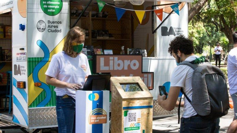 """""""Libro Móvil"""" en las Ferias porteñas"""