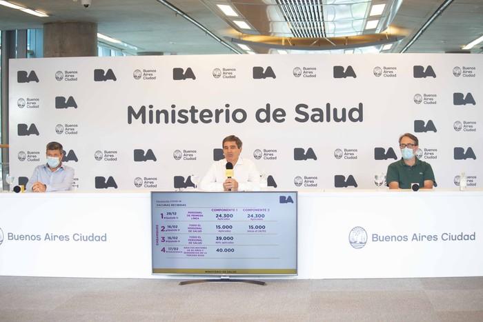 CABA: Desde el Ministerio de Salud informan nuevos detalles del plan de vacunación
