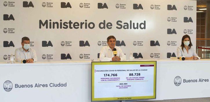 Desde CABA alertan sobre una nueva variante de covid argentina