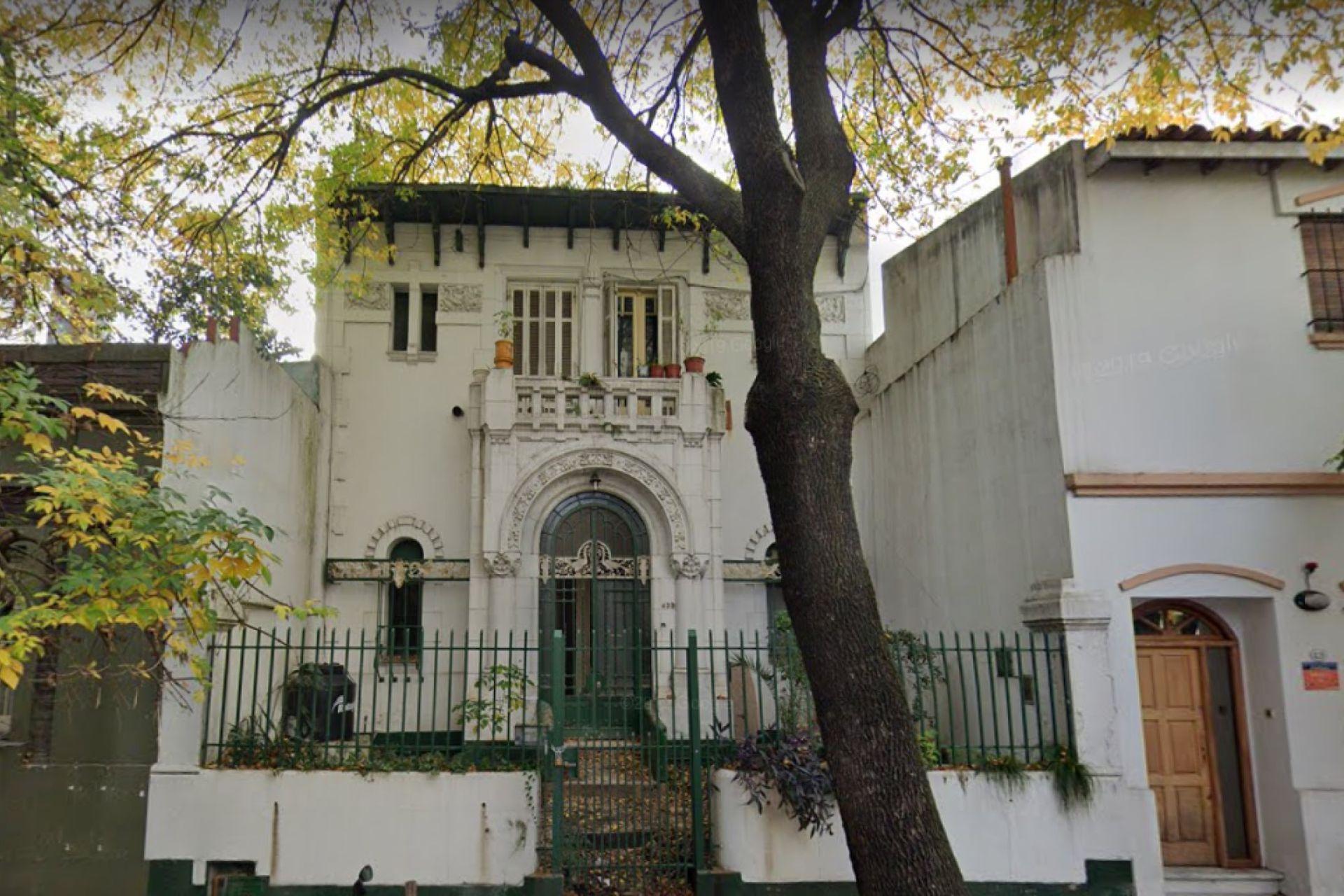 En CABA demolieron una vivienda de esitlo Art Nouveau