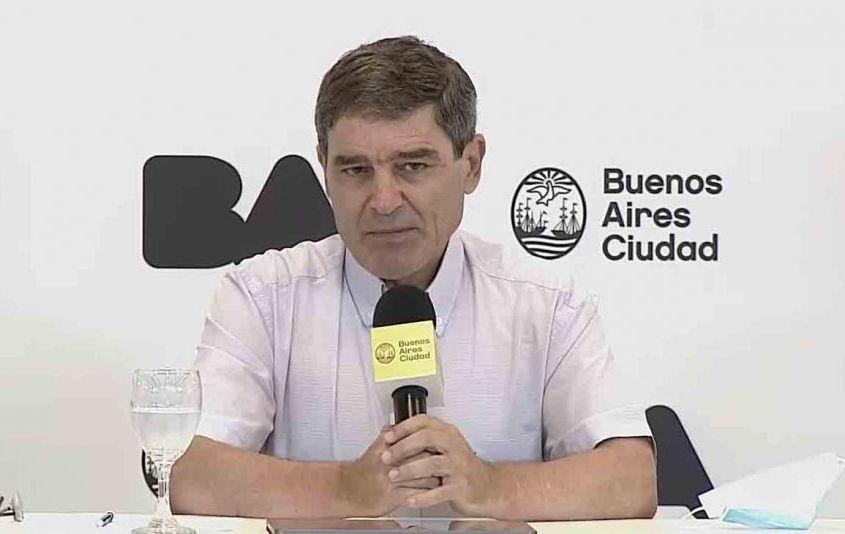 """""""Aplicamos un 92,2% del total"""" de vacunas que nos entregó Nación, dijo Quirós"""