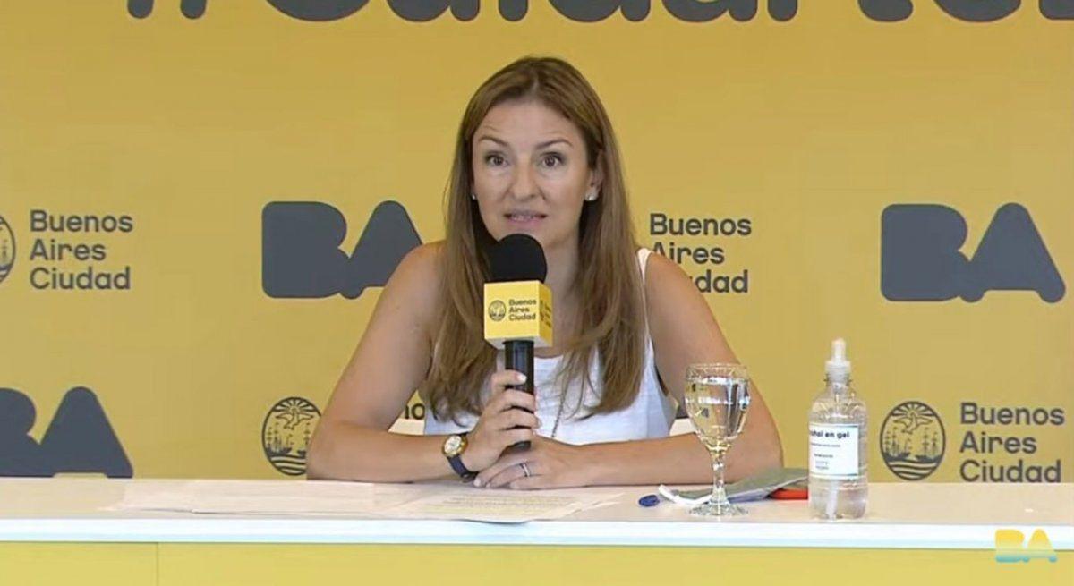 """Soledad Acuña: """"Habrá horas extras en los colegios secundarios de CABA y funcionarán los sábados"""""""