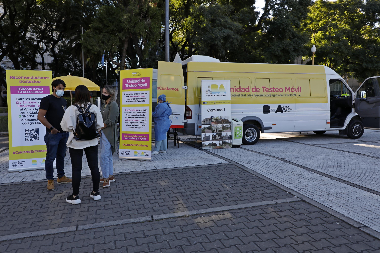 Unidades Móviles De Testeo Covid 19 de la Ciudad De Buenos Aires