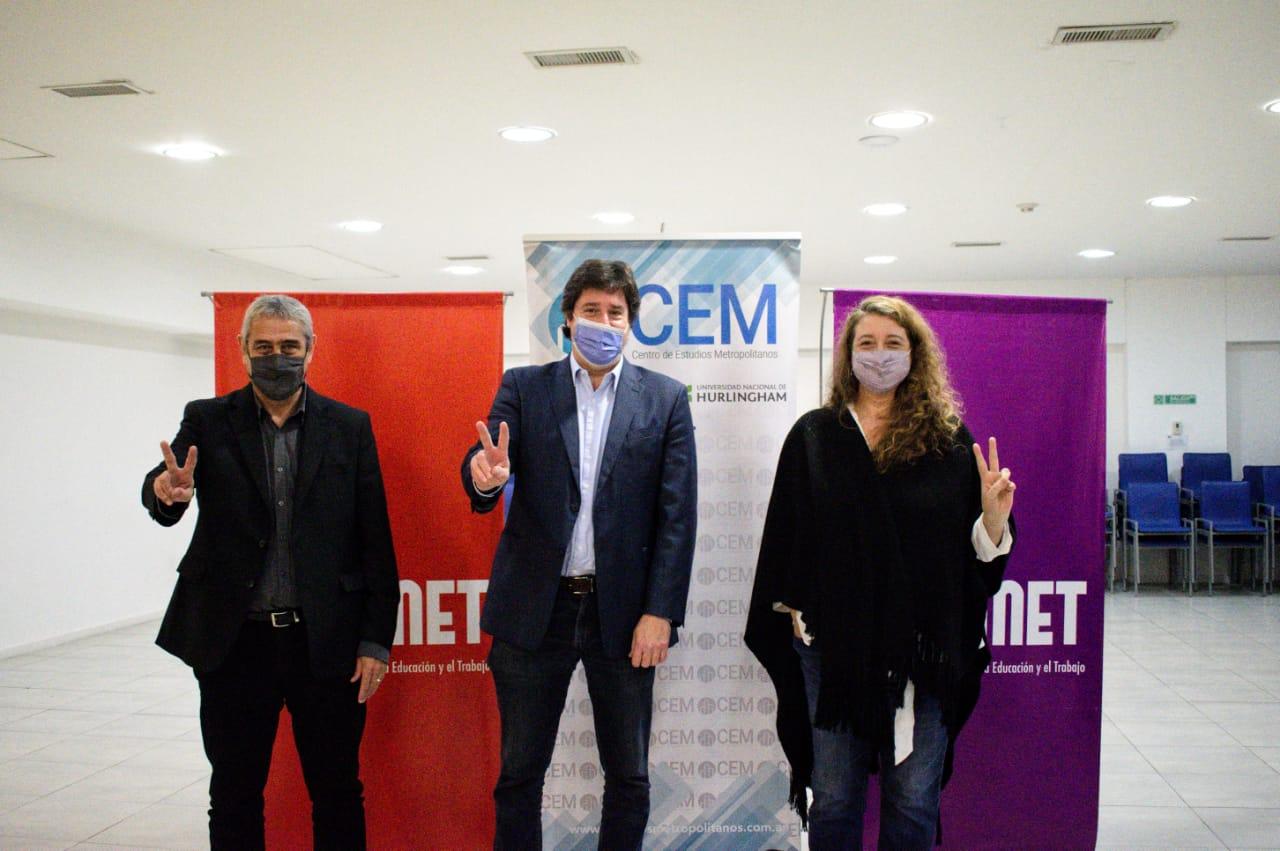En un encuentro del CEM sobré  Déficit habitacional en CABA Barroetaveña presentó un proyecto de Ley de Vivienda junto al Ministro Ferraresi y las diputadas Paula Penacca y Maria Rosa Muiños