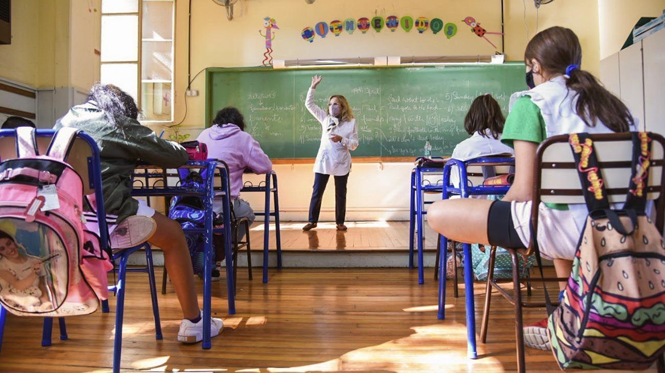 CABA: alto presentismo en el regreso a las aulas en educación primaria