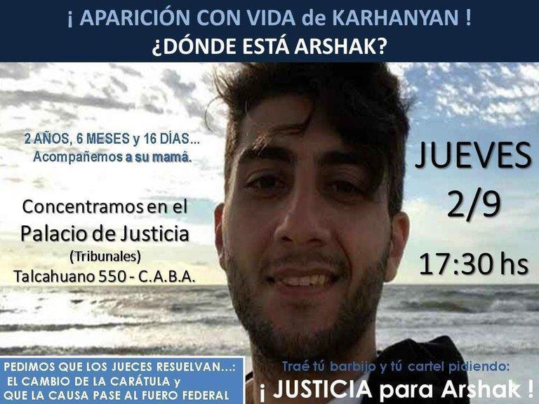 La familia del policía porteño desaparecido convoca a una marcha en Tribunales
