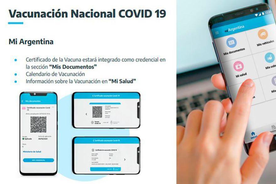 Covid19: El documento oficial para viajar al exterior es la credencial digital Mi Argentina
